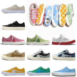 Últimas One Star OX Tyler Shoes X Golf Le Fleur TTC lona Trending Designer instrutor Sports Men Mulher Causal Skate Sneaker