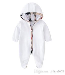 2020 Bébé Barboteuses Printemps Automne Bébé Garçon Vêtements Nouvelle Barboteuse Coton Nouveau-Né Bébé Filles Enfants Designer belle Infantile Combinaisons tissu