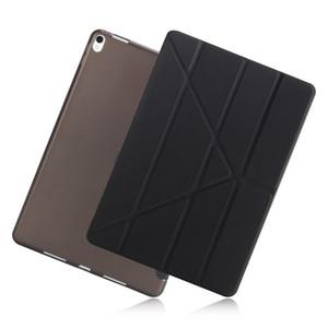 Per iPad Air 2 Air 1 Caso 2018 9.7 Silicone Soft Back 2019 Caso di copertura intelligente in pelle PU