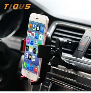 Montar carro titular do telefone celular para o carro de ventilação de saída do telefone montar titular cradle para iphone 7 plus 6 s plus lg g6 sony sony