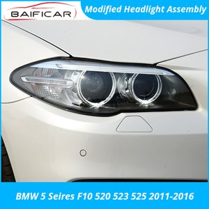 Baificar Brand New Headlight Assembly Modified LED Daylight Double Light Lens Xenon Lamp for 5 Series F10 520 523 2011-2020