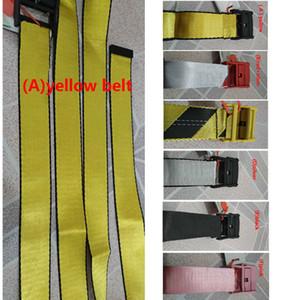 2019 ceinture jaune d'or à la mode des hommes de ceinture de toile de haute qualité loisirs hommes toile femmes ceintures 200cm