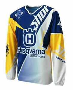 En ucuz TLD dağ bisikleti hız düşüşü hizmeti Bisiklet / Motosiklet off-road T-shirt yolculuğu downhill Jersey uzun kollu gömlek