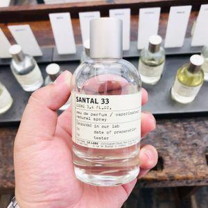 DHL gratuito Le Labo Perfume Fragrance 100ml Cologne Rose Thé Noir Eau De Parfum Marca Perfumes Incenso