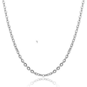 O Designer Necklace New Jewelry Gift Europe And America Ladies Necklace Cross Chains O Bracelet Platinum Plated Silver Chain