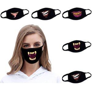 Maschera modello nuovo squali popolare splicing colori Bocca Cover Male Female modo creativo maschere vendita diretta della fabbrica