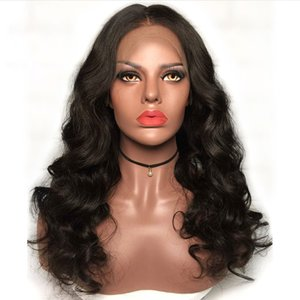 Pre Plucked Full Lace Human Hair Wigs With Baby Hair Loose Wave Brazilian Virgin Lace Front Wigs For Black Women