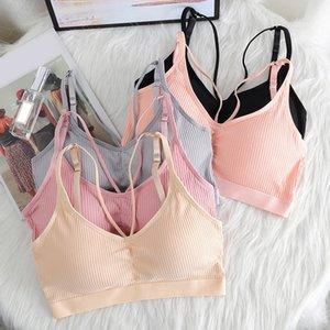 Underwear Female New Sexy Bottoming Personal Strap Bra Top Beautiful Back Wrap Chest Sports Vest Student Girl Bras