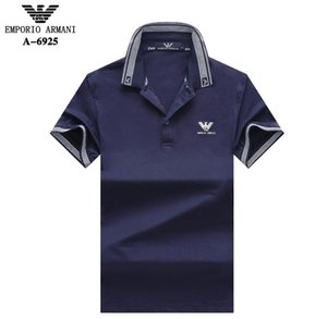New 2020 brand Designer Polo Shirts Men's Casual polo shirts Fashion Medusa printed Luxury T-shirts High Street Men's Street wear sport polo