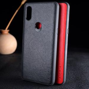 Чехол для Xiaomi play mi 5x 6x 9t a3 a2 lite max mix note 3 5c mix 2s роскошный винтажный кожаный личи модный чехол для кожи фундамент капа