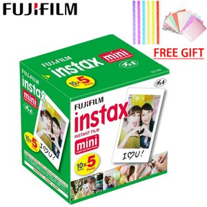 50 folhas Fujifilm Instax Mini 9 Film borda branca papéis fotográficos Mini Para Polaroid Camera Film 8 7s 90 25 55 SP-2 instantâneo