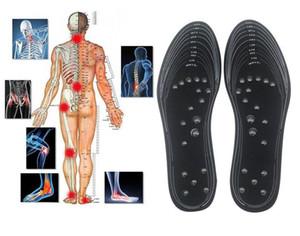 Колодки терапия Магнитная терапия Силиконовые стельки Прозрачный Потеря Массаж ног Вес похудения Стелька Health Care Чистка Pad Sole Dropshipping