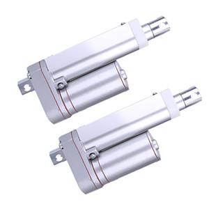 2 개 팩 1500N / 331LB 선형 액추에이터 리니어 액츄에이터 스트로크 30MM DC 12V 전기 모터 스트로크 헤비 듀티 선형 액추에이터