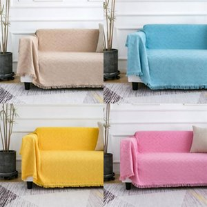 Multi-function Sofa Throw Thread Blanket Home Travel Office Cover Blankets All Season Dust-proof Outdoor Picnic Mat Slipcover