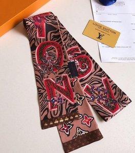 women brand hair fashion brand scarf fashion handbag decorative band multi-purpose silk ribbon small ribbon 120*8cm