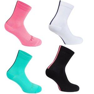 Cycling Breathable Sport Socks Middle Cylinder Rapha Basketball Running Sock White Green Black Pink Soft Simple Sockings Hot Sale 5 3hkD1