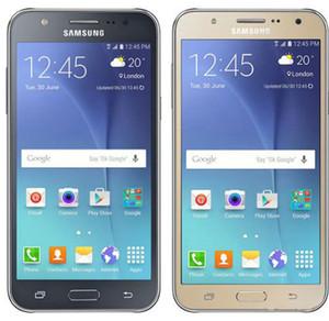 Original recondicionado Samsung Galaxy J7 J700F Desbloqueado Celular Octa Núcleo 1.5 GB / 16 GB 13MP 5.5 polegada Sim Dual 4G Lte