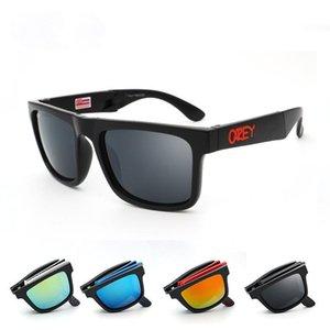 Folding Sonnenbrille KEN BLOCK Herren Marken-Designer-Sonnenbrillen Reflektions-Beschichtung Platz spionierte für Frauen Rechteck Brillen gafas