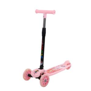 motorino ruota Flash bussola manubrio di vendita al dettaglio all'ingrosso di colore blu verde Biciclette rosa per bambini diretta in fabbrica ride-on