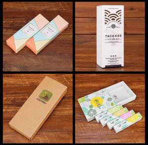 Regalo de encargo de embalaje caja de cajas de atención Personalizar almacenamiento piel Casos de maquillaje con su logotipo de la marca Colores