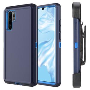 Galaxy Note 10 için Kemer-Clip Ekran Koruyucu, Şok / Bırak / Toz Belgesi 3-tabakasının korunması ile Kılıf Kılıf, Tüm Vücut Sağlam Ağır Hizmet Kılıf