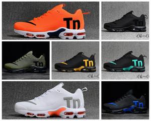 Nike 2019 designer de moda sapatos de luxo homens mulheres Wave Runner tênis de corrida Treinamento melhor qualidade ar mens chaussures TN PLUS V2 max Gota de plástico
