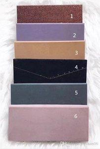 Горячая Макияж полоса современные тени для век Палитра 14 цветов ограниченная палитра теней для век с кистью палитры теней для век 9 стилей