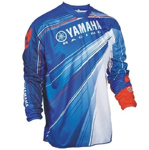 Outdoor Yamaha R1 Downhill Cycling Jersey manica lunga T-shirt MTB motocross che corre Top