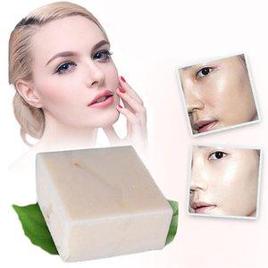 Handmade leite de arroz Soap colágeno Vitamina clareamento da pele Acne Pore Remoção Hidratante Branqueamento sabonete de leite de arroz 65g