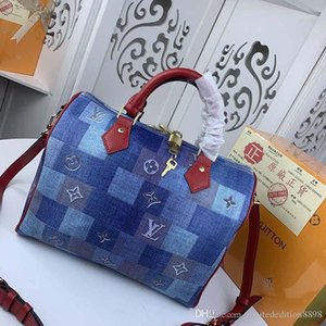 Luxus-Designer-Handtaschen Mode nähen Muster mit großer Kapazität Leder und Canvas Produktion Luxus Replik 40391 A6