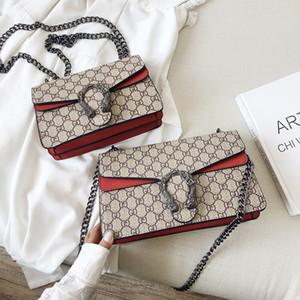 2020 yeni çanta kırmızı net torba patlama modelleri çanta omuz çapraz çanta dış ticaret ile klasik Dionysosçu yıldızı ins
