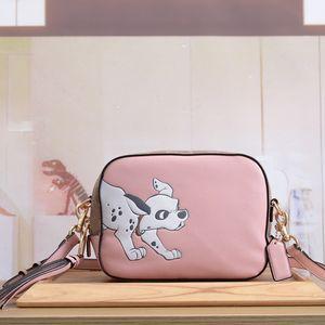 Mulher Moda Bolsas Bolsas Bolsas de alta qualidade Novo Estilo Couro Couro Zipper dos desenhos animados Shoulder Bag frete grátis