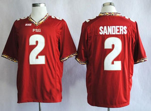 Fábrica Outlet- Florida State Seminoles (FSU) # 2 Deion Sanders de 2014 New Style mais barato Sportest, College Football Jerseys, logotipo bordado Jer