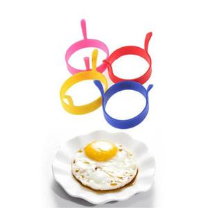 1pc récente ronde parfaite en forme de silicone Oeuf Moule Anneau pour la cuisine créative Egg Outils RRA3101