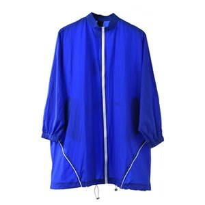 LANMREM 2019 Spring Summer New Fashion Zipper Light Thin Windbreaker Personal Loose Large Size Sunscreen Clothes For Women YH253