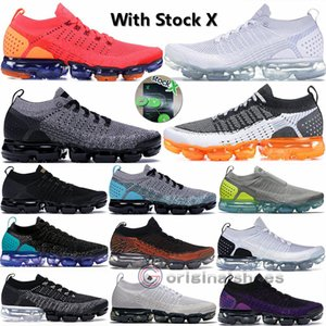 2020 Vapors 2,0 Knit 3,0 Herren Laufschuhe Moc Hot Schlags Cinder Triple Black Weiß Grau Volt Safari Red Orbit Frauen Runner Trainer-Turnschuh