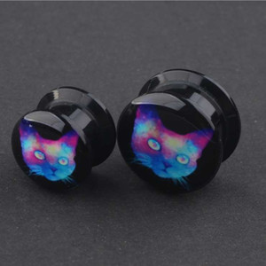 man womans Earlets Gauge Fashion Punk Jewelry Plugs Top Quality Ear Gauges Expander New