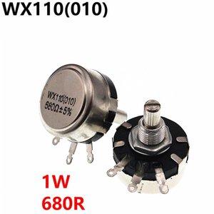 Wx110 010 Wx010 1 W 680R potenziometro resistenze regolabili