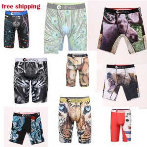 Mutande Mutande calda design Ethika Underwear Boxer Mens pugile della biancheria intima degli uomini respirabile comodo Cuecas Boxer