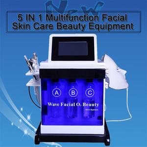 기계를 강화 바이오 RF 피부를 청소 한 히드라 얼굴 미세 박피 물 히드라 박피술 스파 얼굴 피부의 모공 5