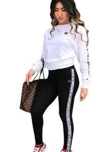 2020 New Arrival dos Campeões Feminina Treino camisola Hoodies + Pant Pista de Corrida Esporte terno 2 conjuntos de peças de jogging survêtement femme roupas
