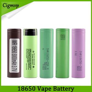 Лучшее качество HG2 30Q VTC6 3000 мАч NCR 3400 мАч 25R 2500 мАч 18650 аккумулятор E Cig Mod аккумуляторная литий-ионная аккумуляторная батарея