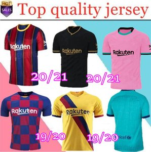 TOP FC Barcelona Fußball-Trikot 2020 2021 camisetas de futbol Ansu FATI 19/20 Messi Griezmann DE JONG Maillots de Fußballhemd Männer Kinder-Kit