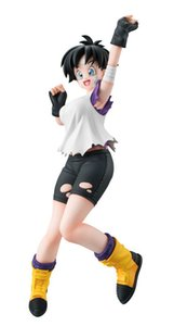 19cm Dragon Ball Videl Action figure toys collection doll Christmas gift with box Y200703