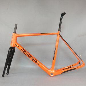 2020new 탄탄 슈퍼 라이트 자갈 자전거 프레임 Axle 디스크 브레이크 탄소 자전거 프레임 모든 크기 재고 있음