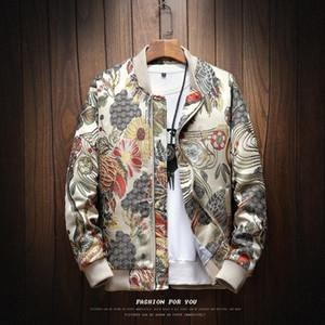 2019 Sping New Japanese Embroidery Men Jacket Coat Man Hip Hop Streetwear Men Jacket Coat Bomber Clothes