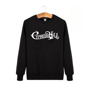Kış Yeni Cypress Hill Moda Erkekler Komik Pamuk Tişörtü crewneck kazak XS-XXL