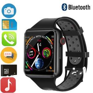 Android, Apple IOS Telefon İzlemek İçin 2020 Yeni C5 Akıllı İzle Series 5 Erkekler kadınlar Smartwatch Destek Bluetooth Sim Çağrı TF Kart müzik Kamera
