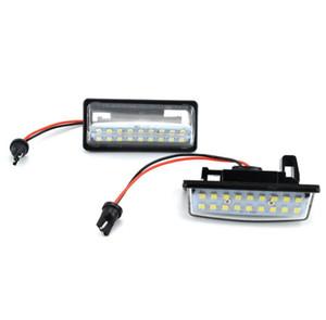 2ST Fehler frei 18 3528 SMD LED-Lizenz Kennzeichenleuchte Auto-Licht-Fit für Nissan Teana J31 J32 Maxima Cefiro Altima Rogue Sentra