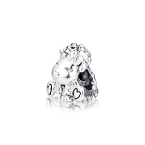 CKK 2020 Spring Patti the Sheep Charms 925 Original Fit Pandora Bracelet Sterling Silver Charm Beads for Jewelry Making
